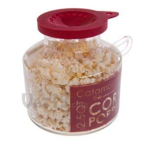 🎀3/$30 Glass Microwave Popcorn Popper